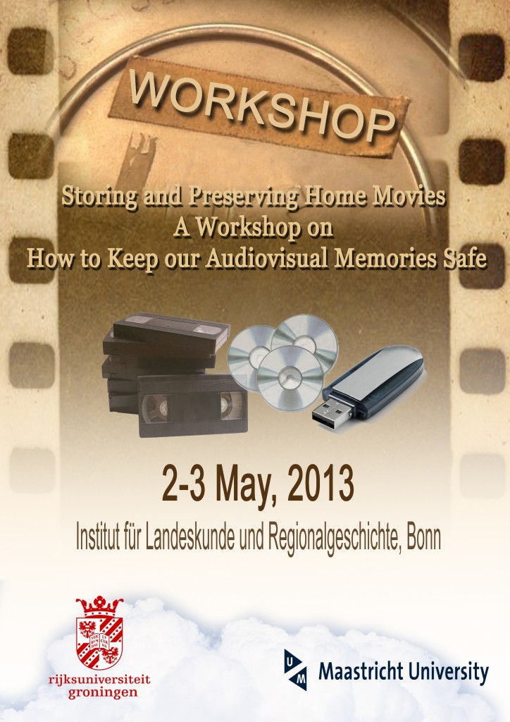 Workshop: Storing and Preserving Home Movies