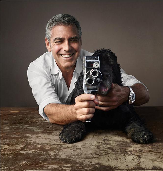 8mm Bolex, Clooney and Einstein